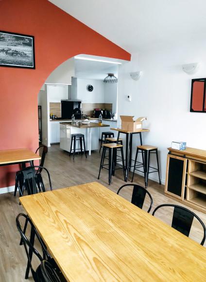 Rénovation de bureaux en habitation colocation à Saint-Nazaire