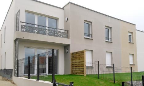 Construction d'un immeuble - Les Thébaudières à Sainte-Luce-sur-Loire