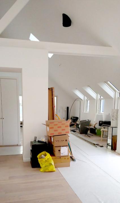 Rénovation complète d'un appartement à Mellinet (Nantes)