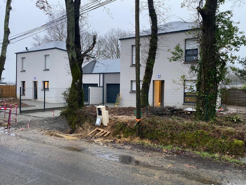 Construction de 2 maisons individuelles jumelées