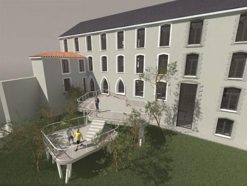 Restructuration d'un séminaire en logement locatif de courte durée