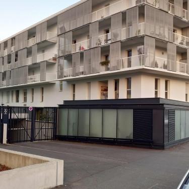 Construction de 55 logements et 3 commerces, à Nantes