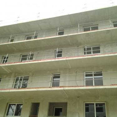 Construction d'un immeuble de 46 logements, quartier Pirmil à Nantes
