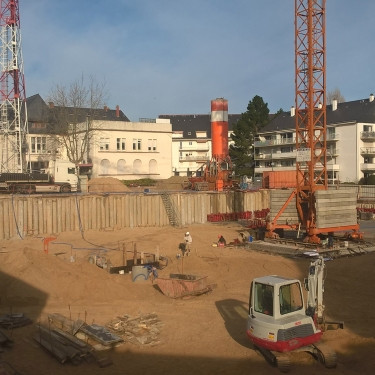 Construction d'un parking semi-enterré de 295 places, à La Baule