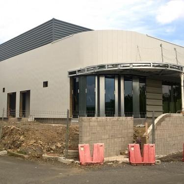 Construction neuve de 800m², usine Hutchinson à Jehier