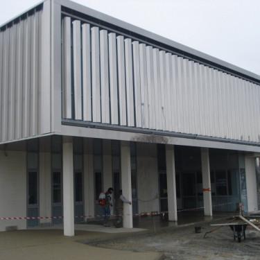 Construction neuve de la maison de l'économie, à Challans