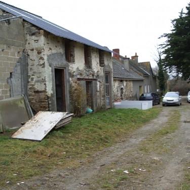 Rénovation complète d'une grange, en habitation, à Héric