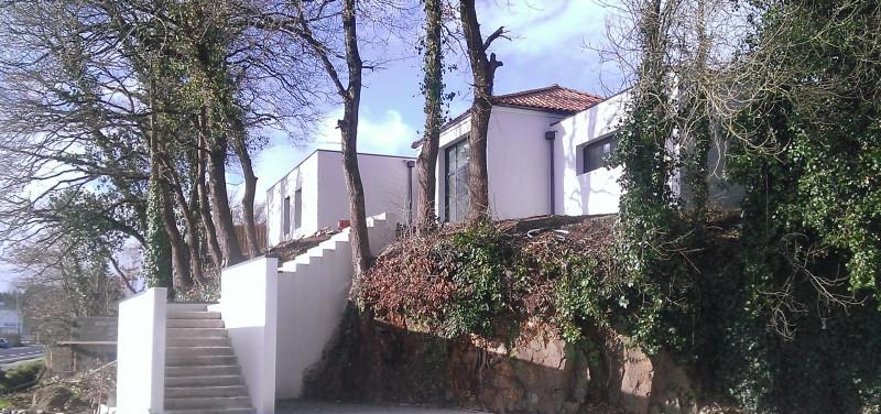Construction neuve d'une maison individuelle, à Bouguenais