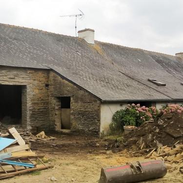 Rénovation d'une grange à Treillières